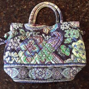 Vera Bradley Paisley satchel purse